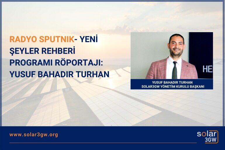 Radyo Sputnik Yeni Şeyler Rehberi Programı Röportajı: Yusuf Bahadır Turhan